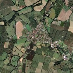 arial view of horsmonden