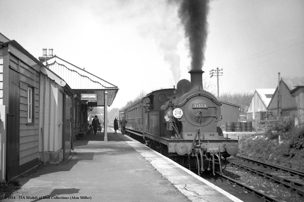 1960 Horsmonden Railway Station