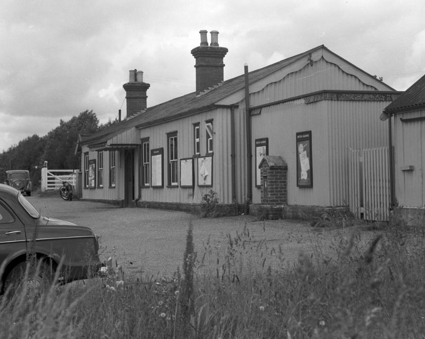 Horsmonden Railway Station Front
