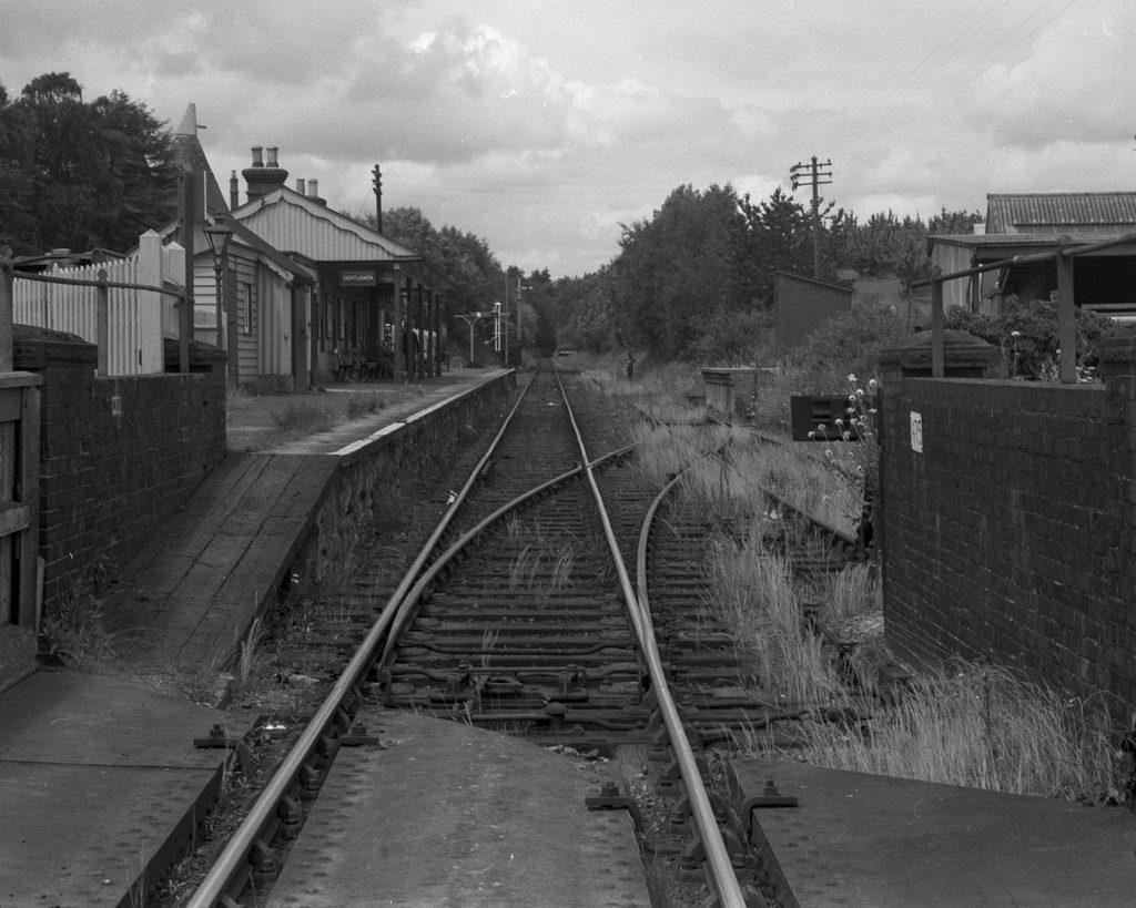 1961 Horsmonden Railway Station