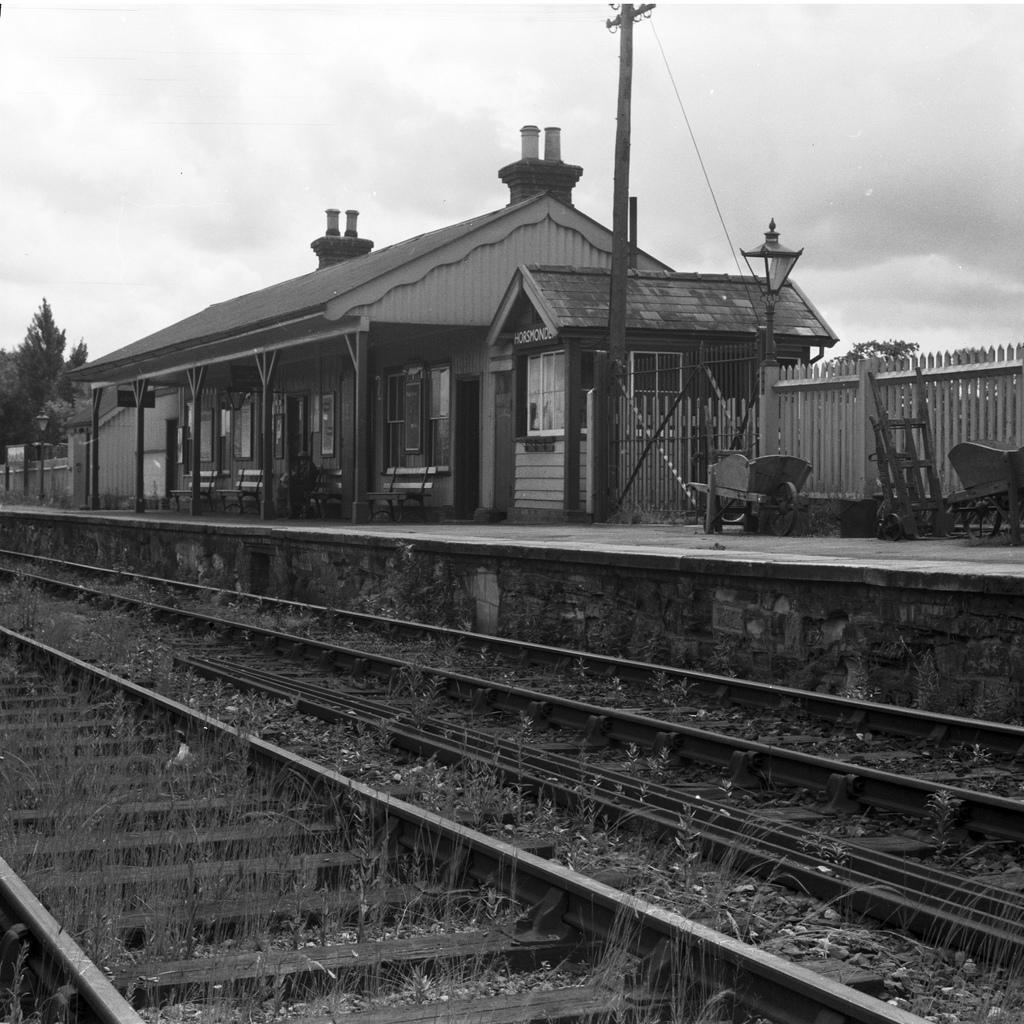 Horsmonden Railway Station Signal Box