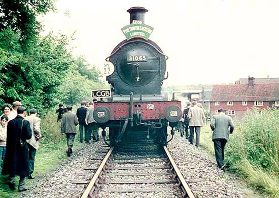 South Eastern Ltd loco 31065