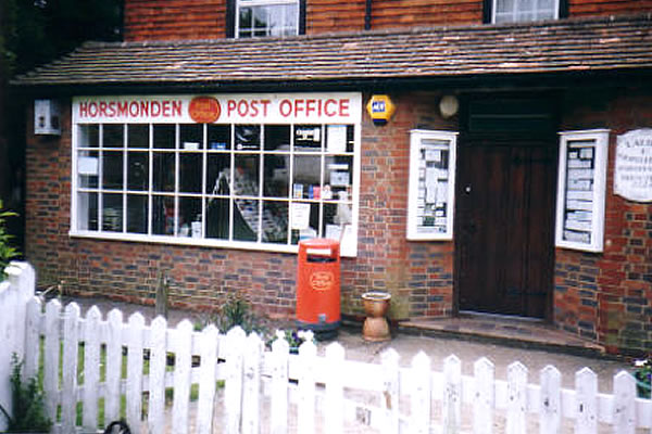 post office horsmonden