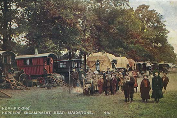 Hop Picking Encampment