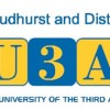 u3a goudhurst and district logo