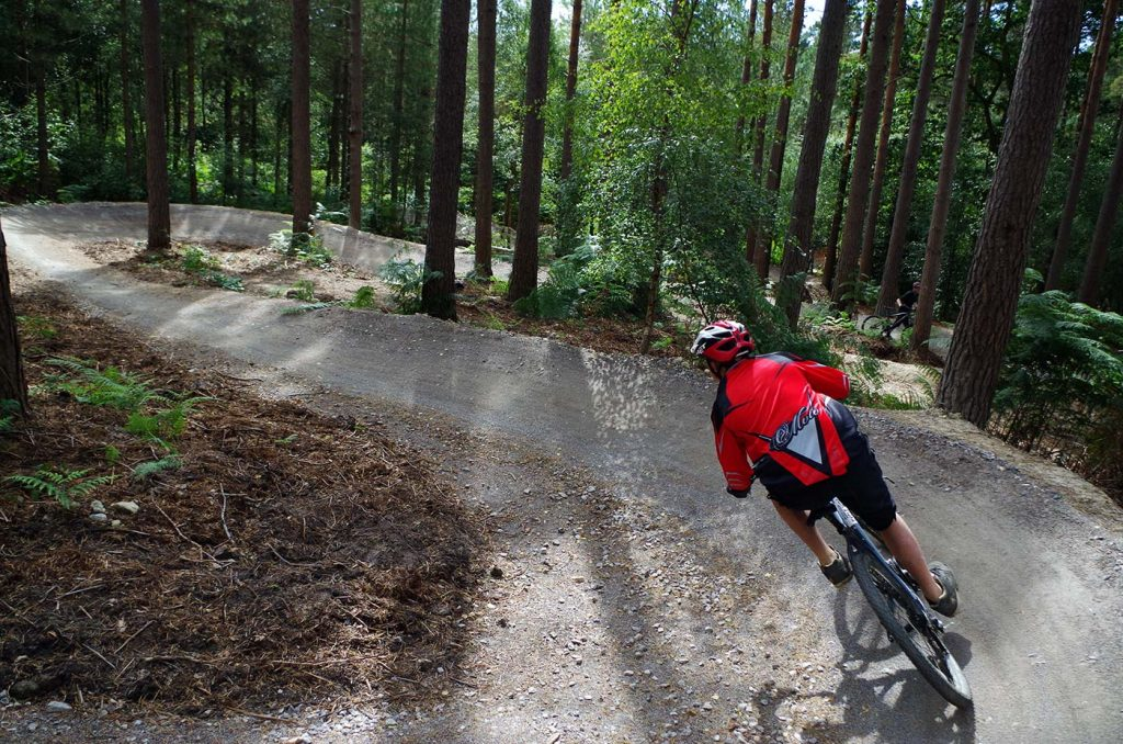 Downhill Cycle Ride